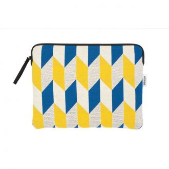 "Pochette Ipad Pro 11"" Optical Flag Moutarde"