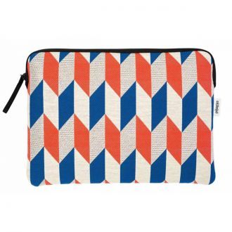 "Pochette Macbook Pro 15"" Optical Flag Rouge"