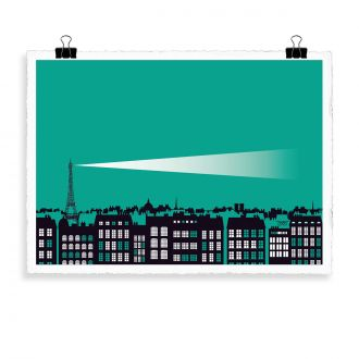Affiche The Roof by Vahram Muratyan - 40 x 50 cm