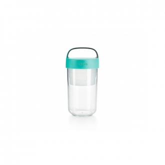Jar To Go 600ml Turquoise