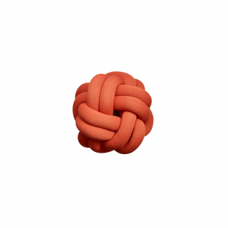Coussin Knot Rouge Tomate