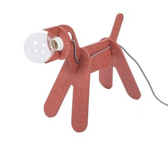GET OUT: LAMPE CHIEN Rouge
