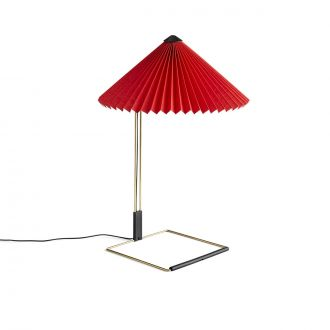 Lampe de table Matin L Rouge