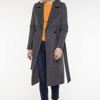 Manteau Beaune Gris