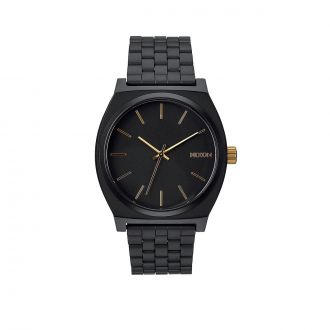 Montre Time Teller - Noir mat/Or