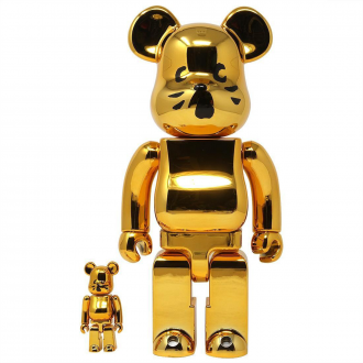 Bearbrick 100+400% Nya Gold