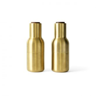 Set de 2 moulins Sel & poivre Brushed Brass