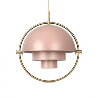 Suspension Multi-Lite Rose poudré