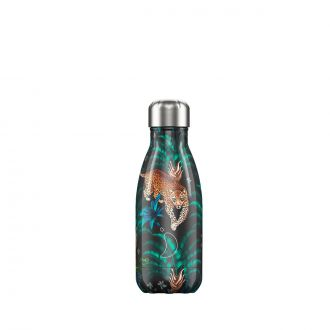 Bouteille isotherme tropical léopard 260ml