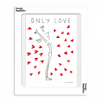 Affiche Soledad Only Love 30 x 40 cm