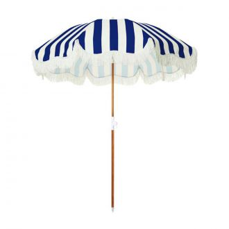 Parasol de Plage Holiday Navy Crew Stripe