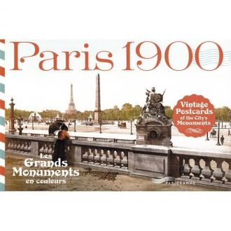 Cartes postales monuments Paris 1900