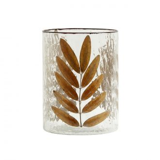 Vase / Photophore Leaves L