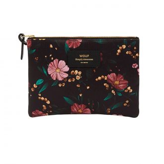 Pochette Black Flowers GM