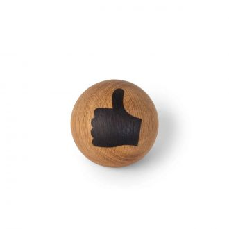 Emotion en bois Thumbs up 7cm
