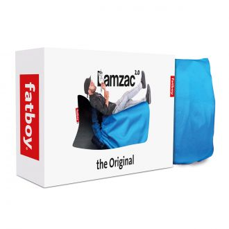 Pouf Lamzac® The Original 2.0 Bleu aqua