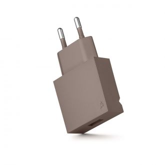 Chargeur USB Pop Taupe