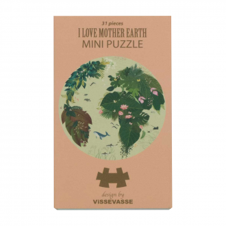 Mini puzzle - I love mother earth