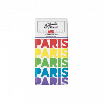 Mini Tablette Chocolat Lait 41 % Paris Multicolore