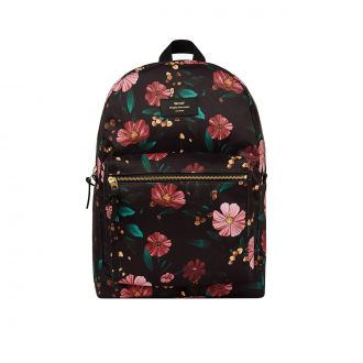 AW19 BLACK FLOWERS SAC A DOS