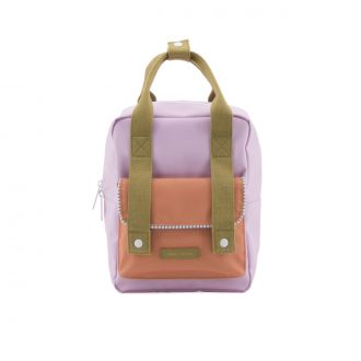 Sac à dos Enveloppe Deluxe Lilas/Orange/Olive S