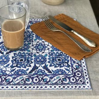 Set de table Armenian Bleu