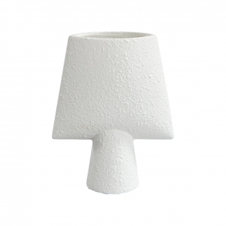 Vase Sphere Square Mini Blanc