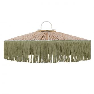 Suspension Parasol Franges GM Vert
