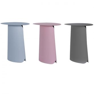 HIGH COLLAR: TABLE D'APPOINT Rose