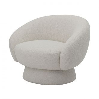 Chaise lounge Ted Blanc