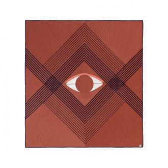 Couvre-lit The Eye AP9 Brown Earth
