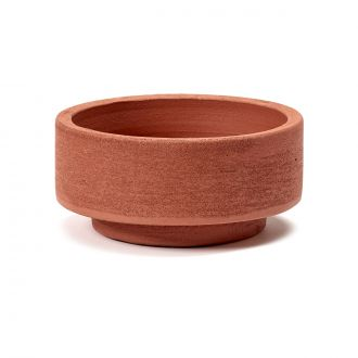 Pot Cylindrique Rouge PM